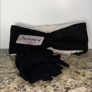 *BRAND NEW* Bearpaw Ear warmer and gloves